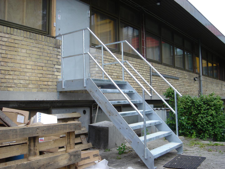 Picture of: Pris Billig Udendors Trappe Stal Galvaniseret For Industri