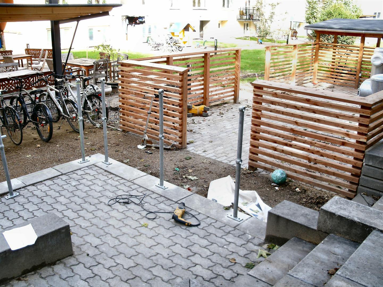 RÆKVÆRK,Septre,Gelænder,Galv.Rustfrit-stål,Aluminium,Klassisk Vej-Park Gelænder,RÆKVÆRK ...